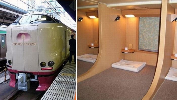 Японский плацкарт, который не сравнить с поездами на постсоветском пространстве.