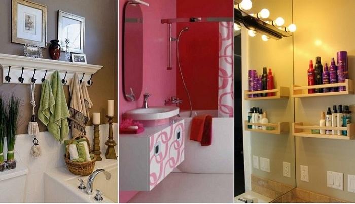 Удачный дизайн ванной комнаты.