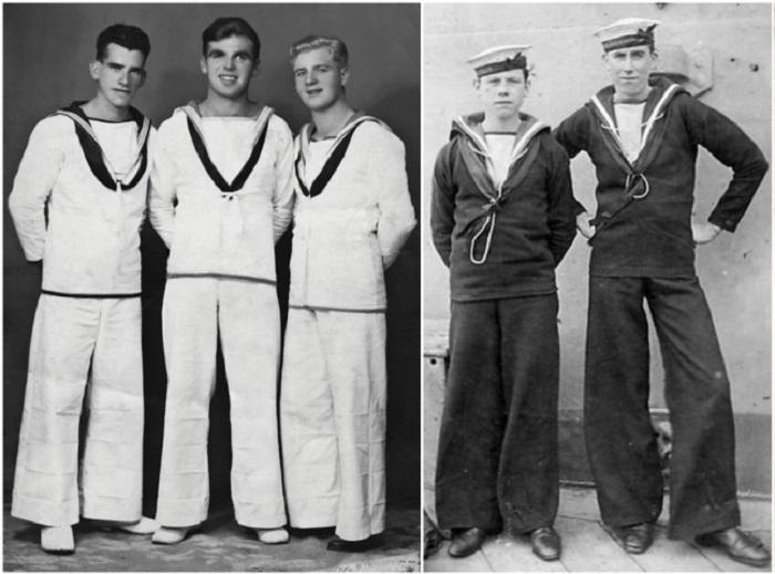 Брюки клеш – почему моряки носили именно их.