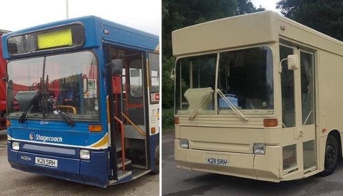 Как из старого автобуса сделать современное жилье/