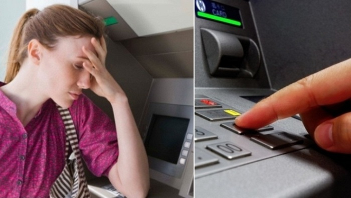 Что делать, если банкомат зажевал карту: полезный совет.