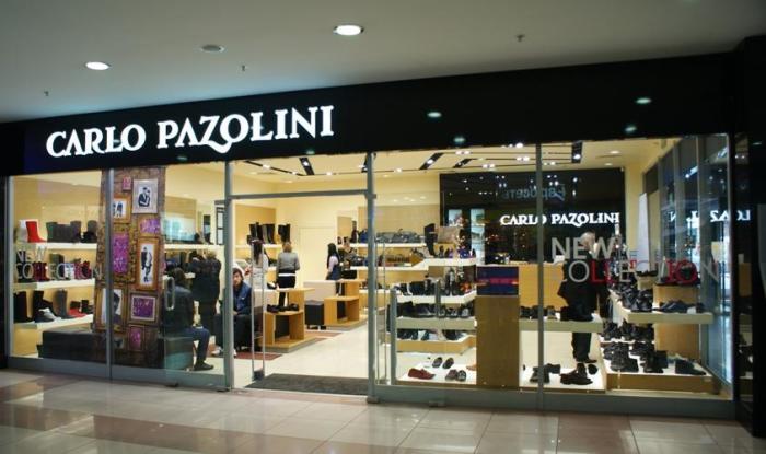 Carlo Pazolini - российский бренд.