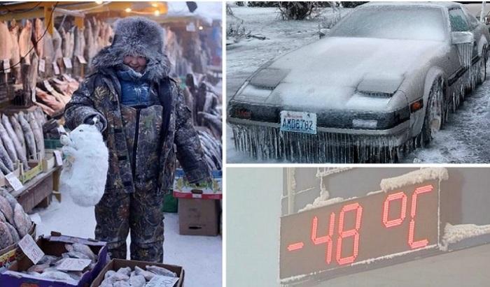 Зима, которая показалась людям во всей своей красе.