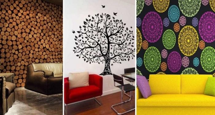 Декор стен: оригинальные идеи оформления.