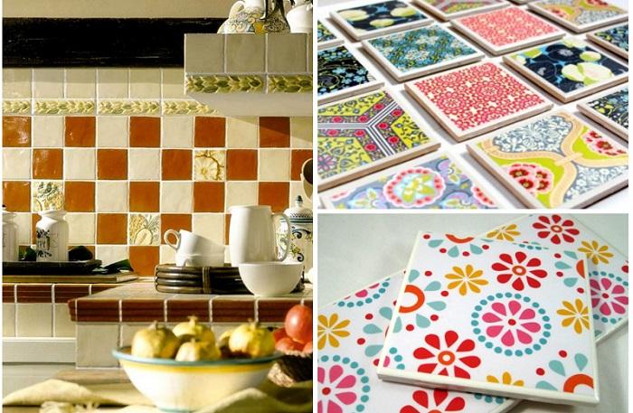Создайте собственные узоры на плитке. Обновите вид вашей кухни.