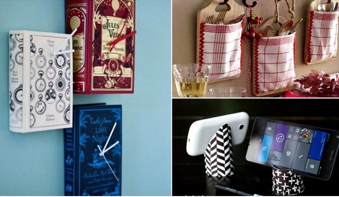 Практичные и стильные поделки для дома.