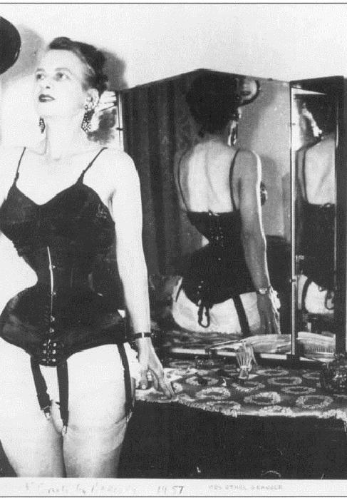 Ethel Granger - женщина с талией в 33 см. | Фото: pinterest.com.