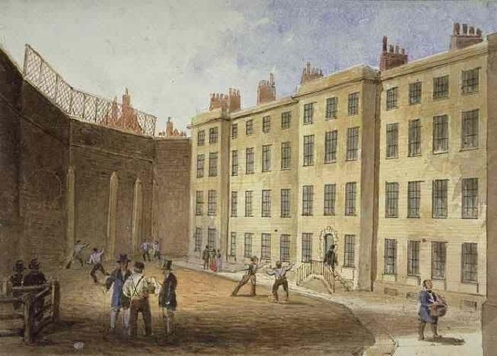 Тюрьма XIX века на Флит-стрит в Лондоне. | Фото: disgustingmen.com.