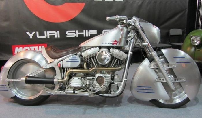 Мотоцикл «Юрий Гагарин» выглядит очень круто.