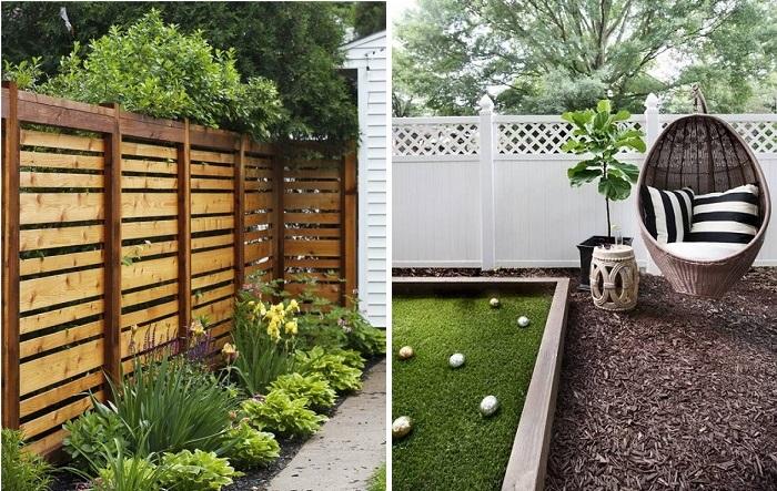 Деревянные заборы и ограждения, которые станут визитной карточкой любого загородного участка.