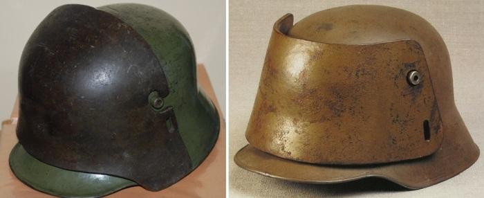 Шлемы М16 со съемными пластинами из брони.