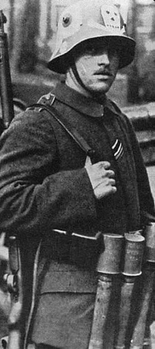 Боец мюнхенского фрайкора.