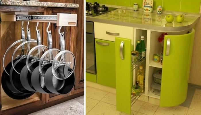 Как сделать кухню в своём доме удобной и уютной.
