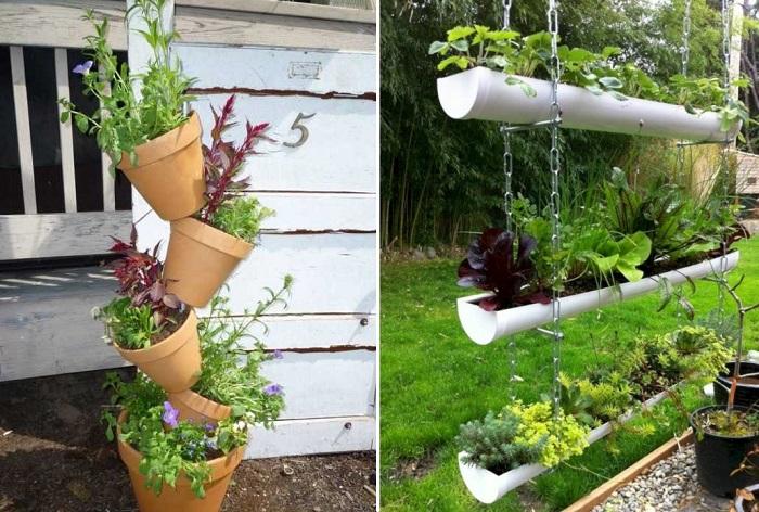Великолепные идеи по озеленению дома и садового участка.