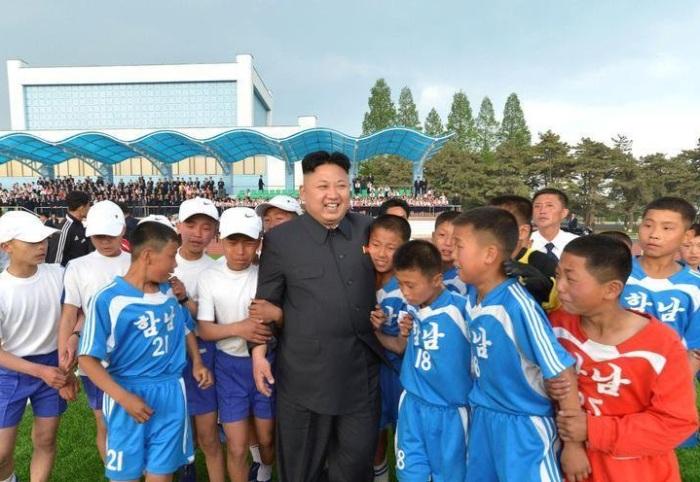 Спорт в Северной Корее развивается только на словах.