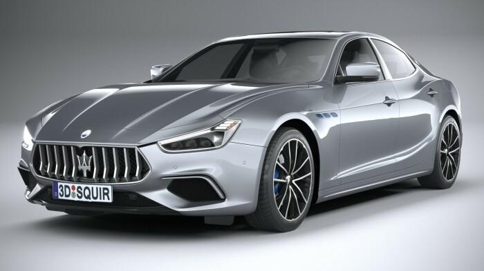 Обновленный Maserati Ghibli получил 4-цилиндровый 2,0-литровый двигатель с электроприводом наддува. | Фото: squir.com.