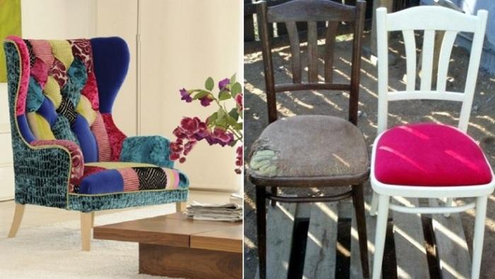 Экономичный способ обновить мебель.