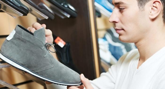 Как правильно подобрать размер мужской иностранной обуви. | Фото: mport.ua.