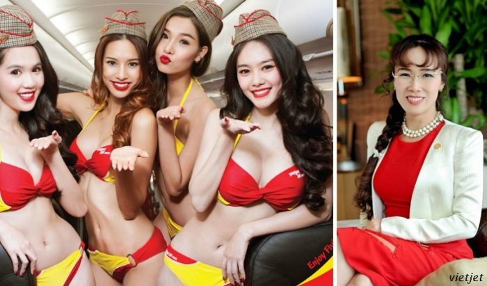 Глава вьетнамских авиалиний раздела стюардесс и сколотила на этом миллиард
