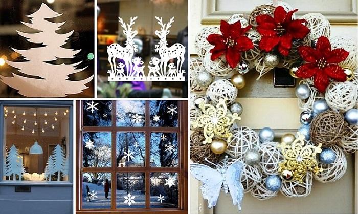Новый год стучится в двери.