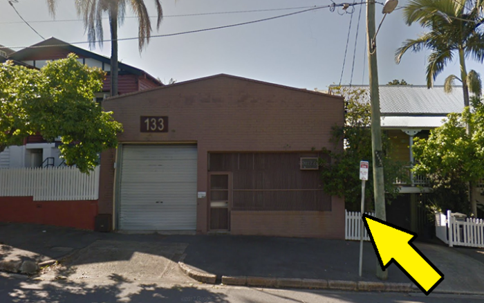 Недавно преобразованный промышленный склад в Брисбене (Австралия).