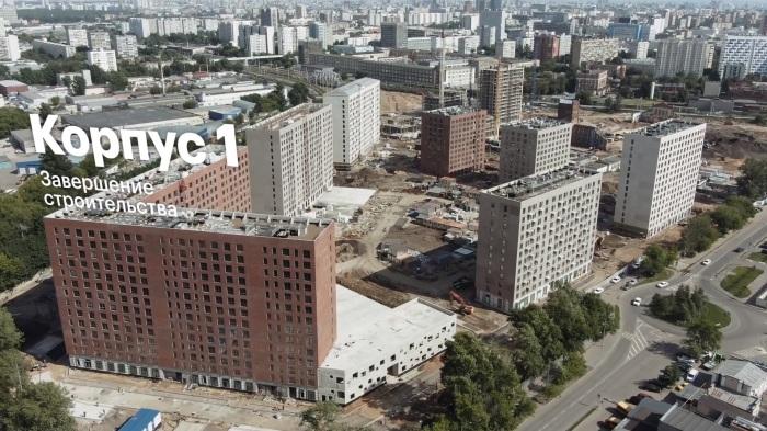 Жилой комплекс «Шереметьевский» девелоперской компании ПИК.