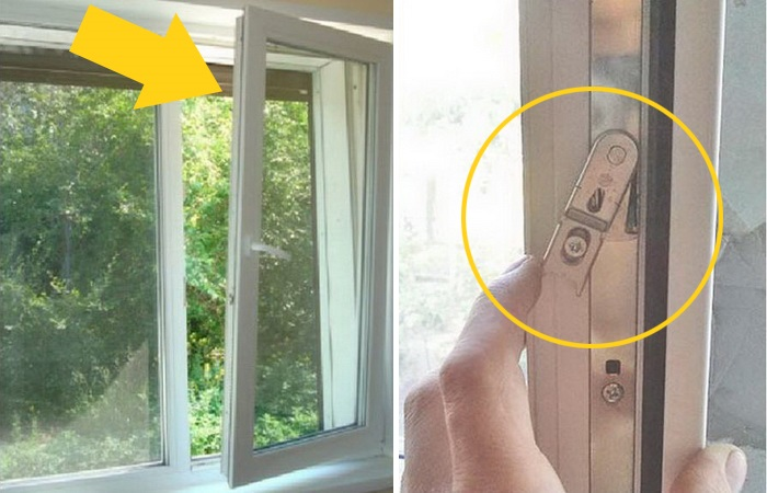 Что делать, если пластиковое окно открылось одновременно в две стороны.