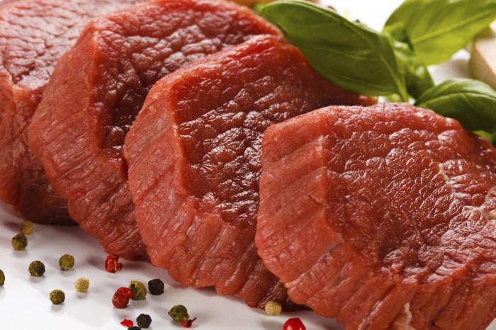Красное мясо - невредное.
