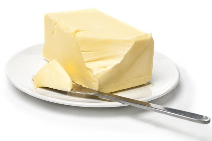 Масло - это полезно.