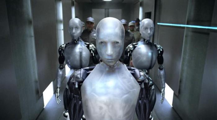 Кадр из к/ф «Я, робот» (2004).