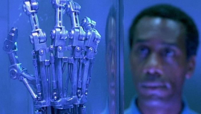 Кадр из к/ф «Терминатор 2: Судный день» (1991).