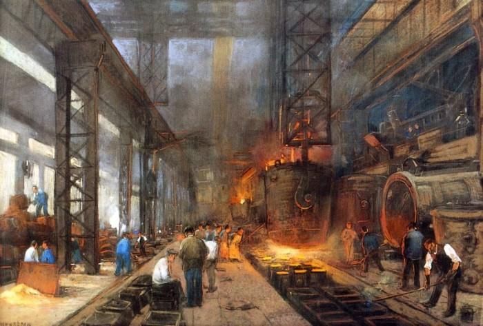 Вторая Промышленная Революция.