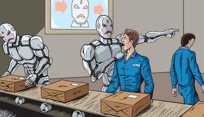 Почему роботы отнимут у вас профессию.