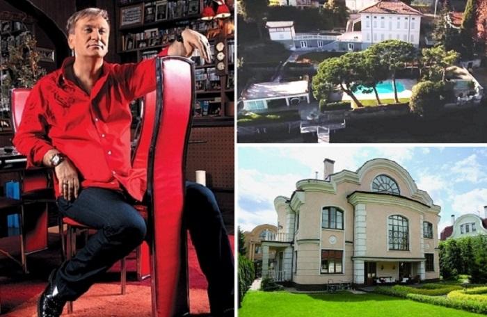 Роскошные апартаменты российских знаменитостей.