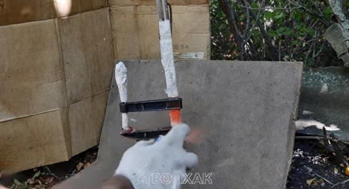 Почти готовый инструмент можно и покрасить. youtu.be/HPrxTtoWexI