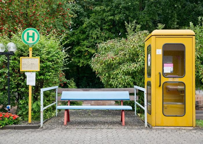 Зачем в Германии устанавливают остановки, к которым никогда не приходят автобусы. | Фото: germania-online.diplo.de.