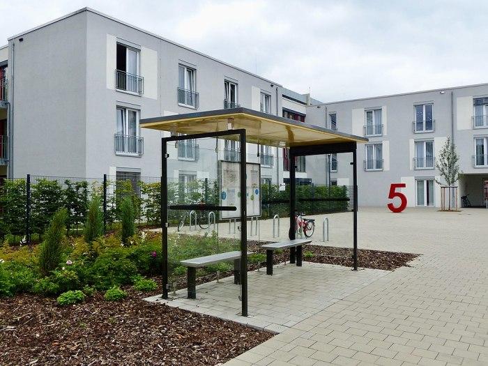 Псевдоостановка на территории больницы. | Фото: de.m.wikipedia.org.