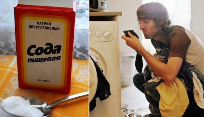 5 способов использования пищевой соды, которые сделают стирку идеальной/
