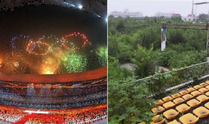 Шокирующий вид олимпийских объектов
