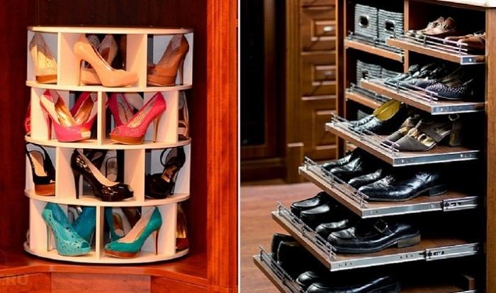 Великолепные системы хранения, которые помогут сделать маленькое помещение стильным и функциональным.