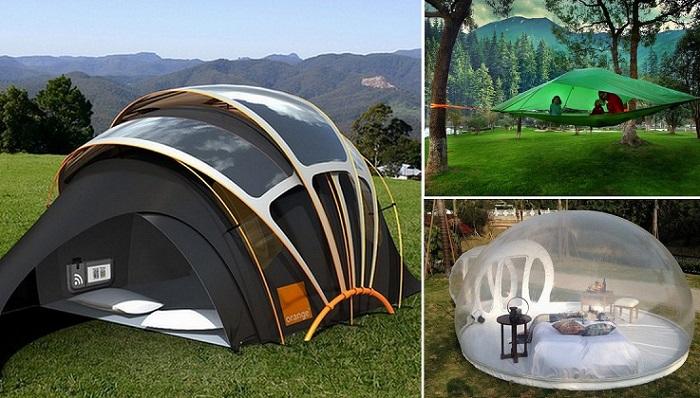 13 палаток, которые стали чем-то большим, чем просто место для сна на природе.