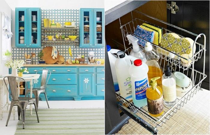 Бюджетные идеи для обновления кухонного интерьера.