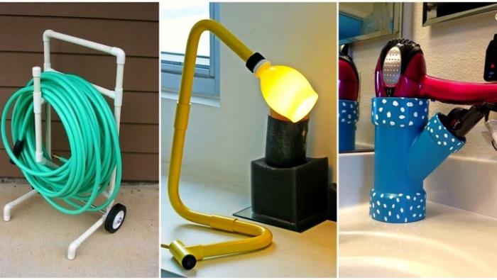 Практичные способы альтернативного использования пластиковых труб.