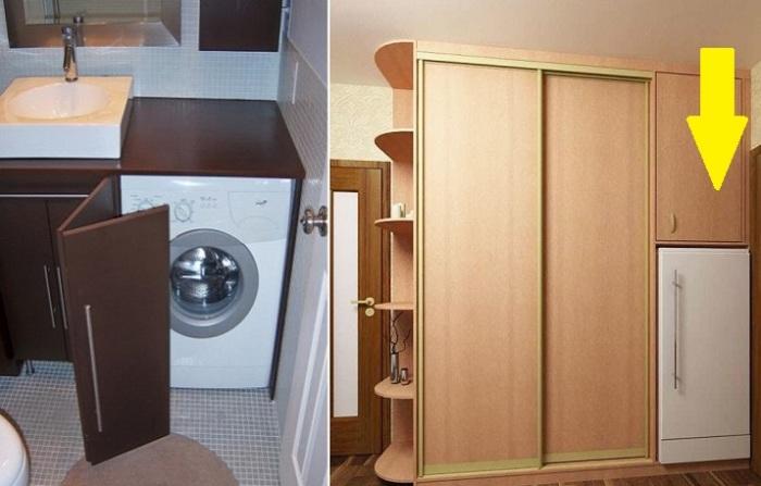 Как приспособить шкафы под что-то, кроме одежды.