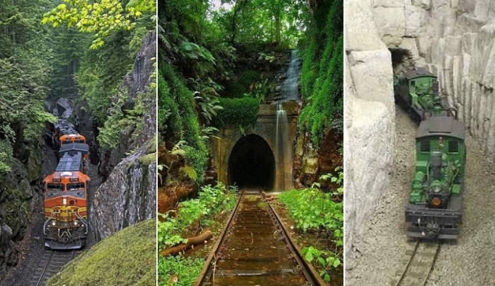 Прекрасные и ужасные тоннели.