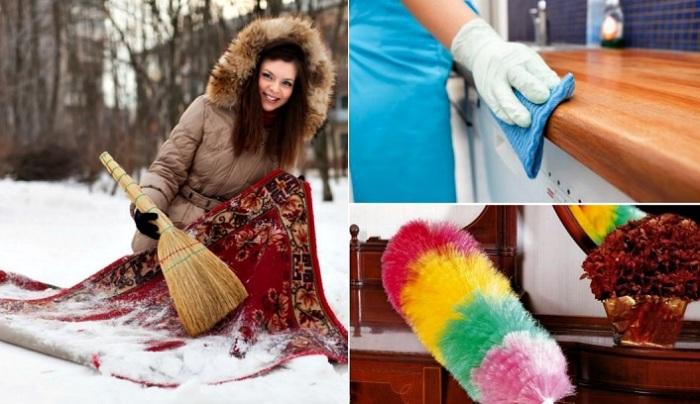 Ошибки, которые многие совершают во время уборки.