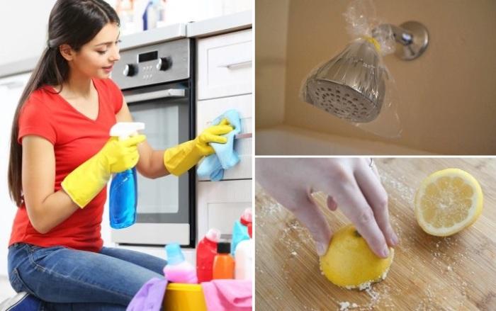 Уборка на кухне быстро и без проблем.