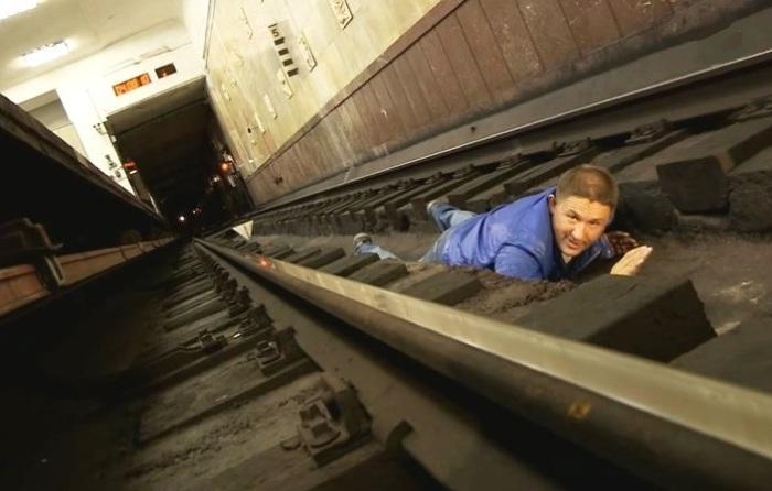 Если в метро приключился экстрим.