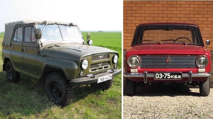 10 советских машин с забавными народными прозвищами.