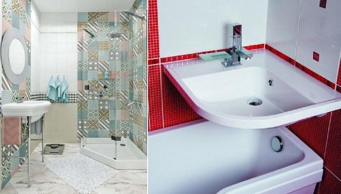 Вдохновляющие идеи дизайна малогабаритной ванной комнаты для тех, кто проживает в «хрущевке».
